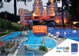ulusoy factsheet tr - Kemer Holiday Club
