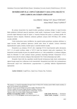 İndir - Gümüşhane Üniversitesi Sağlık Bilimleri Dergisi