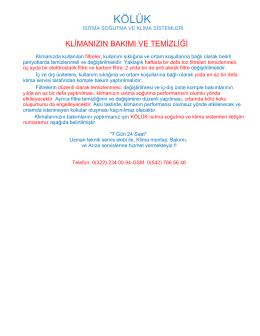 KÖLÜK - Adana Klima Servisi 0542 766 56 46 Uygun Klima Montaj