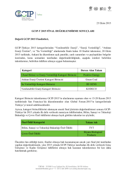 gcıp-türkiye 2015 ödülleri sahiplerini buldu