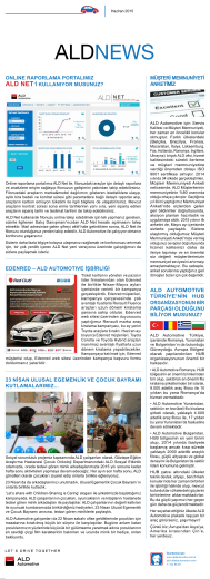 ALD News 20015