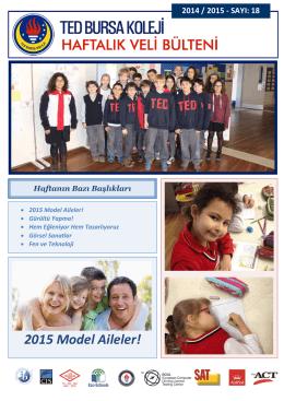 2015 Model Aileler!