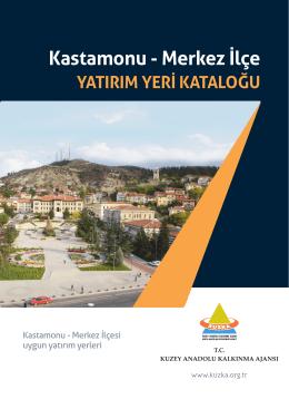 Kastamonu - Merkez İlçe YATIRIM YERİ KATALOĞU