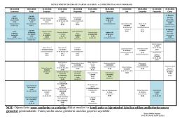 İktisat Bölümü Güz Dönemi A Şubesi 1. ve 2. Öğretim Final Sınav