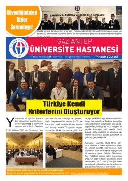 Türkiye Kendi Kriterlerini Oluşturuyor