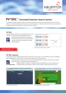 PV*SOL® - Valentin Software