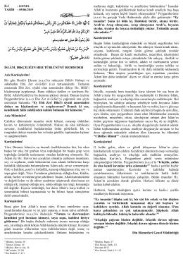 İslam Irkçılığın Her Türlüsünü Reddeder