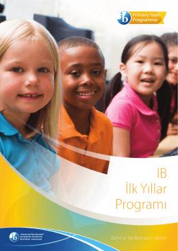 IB İlk Yıllar Programı - International Baccalaureate