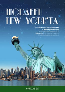4-11 mayıs tarihlerinde new york ve washıngton dc`deyiz detaylı bilgi