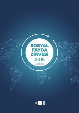 sosyal fayda zirvesi 2015 programını indirmek için tıklayın