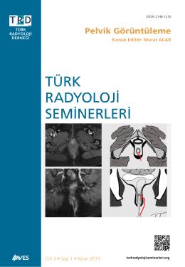 Pelvik Görüntüleme - Türk Radyoloji Seminerleri