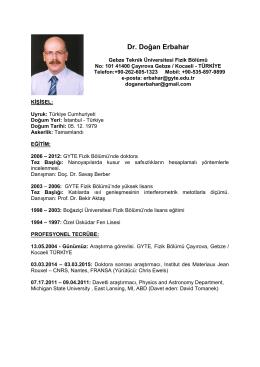 Dr. Doğan Erbahar