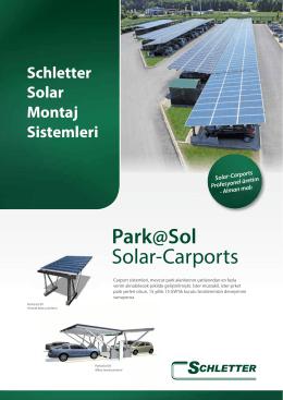 Park@Sol Solar-Carports