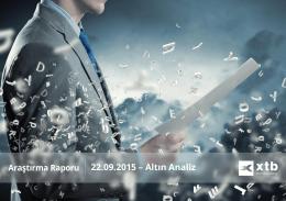 Detaylı Enstruman Analizi - 22 Eylul 2015