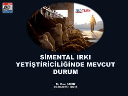 Baş - Türkiye Damızlık Sığır Yetiştiricileri Merkez Birliği
