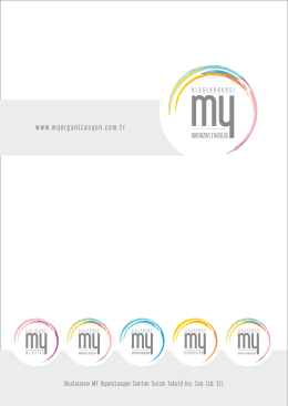 Ekipman Kataloğu - My Organizasyon