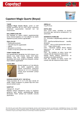 Capatect Magic Quartz (Beyaz)
