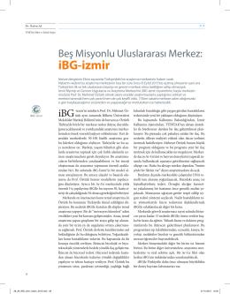 iBG-izmir - Dokuz Eylül Üniversitesi