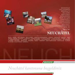 Neuchâtel kantonuna hoşgeldiniz