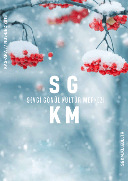 sgkm ıs eventful on nov.-dec.`15