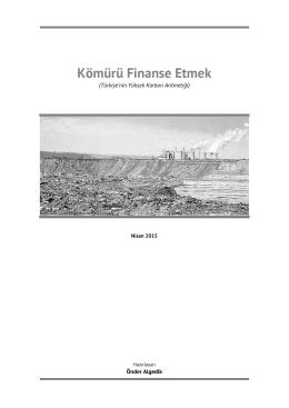 Kömürü Finanse Etmek