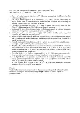 Ödev-1