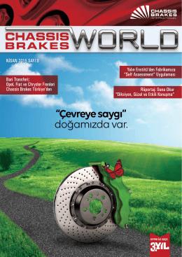 Sayı 8 - 2015 - Nisan - Chassis Brakes International Türkiye