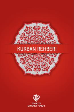 KURBAN REHBERİ - Türkiye Diyanet Vakfı