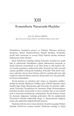 Ermenilerin Nazarında Haçlılar