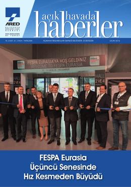 FESPA Eurasia Üçüncü Senesinde Hız Kesmeden Büyüdü