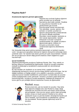 What is Playtime Turkish - Oxford University Press