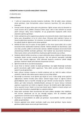 ORTAKARADEN İ ZKALKINMAAJANSI Sayfa 1 VEZİRKÖPRÜ