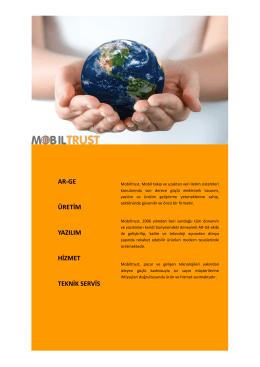 ar-ge üretim yazılım hizmet teknik servis
