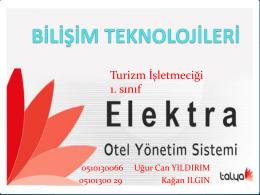 Elektra Otel Yönetim Sistemi