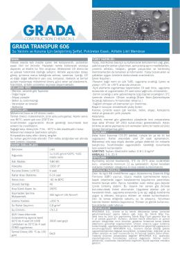 GRADA TRANSPUR 606