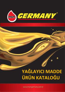 MSM GERMANY BROCHURE 2015