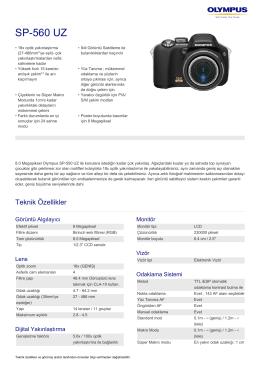 SP‑560 UZ, Olympus, Compact Cameras