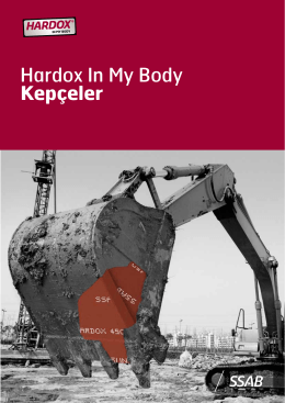 Hardox In My Body Kepçeler