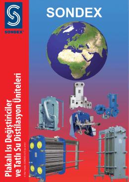 Plakalı Isı Değiştiriciler ve Tatlı Su Distilasyon Üniteleri