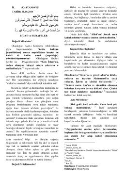 05.06.2015 bidat ve hurafeler 2015-06-02