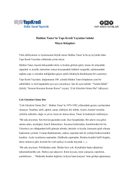 Haldun Taner`in Yapı Kredi Yayınları`ndaki Mayıs Kitapları