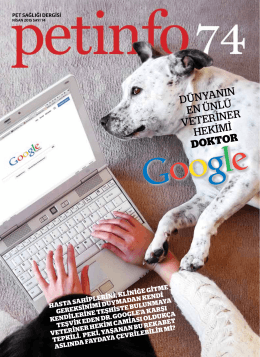 Nisan-2015 - Petinfo Dergi