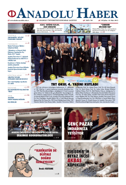 akbaş akbaş - Anadolu Haber Gazetesi