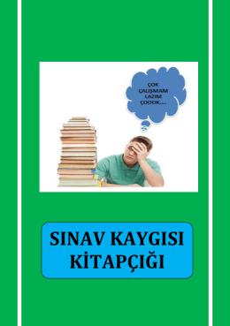 sınav kaygısı kitapçığı