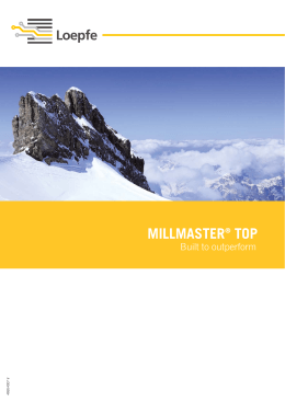 mıllmaster® top - Loepfe Brothers Ltd.