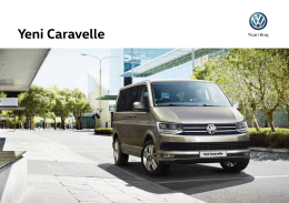 Yeni Caravelle - Volkswagen Ticari Araç