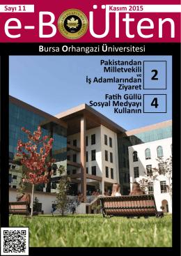 Öğretmenler Günü - Bursa Orhangazi Üniversitesi