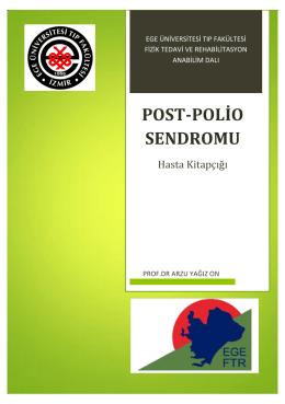 POST-POLİO SENDROMU