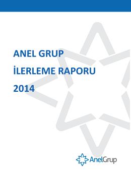 ANEL GRUP İLERLEME RAPORU 2014