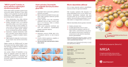 "Ellerin dezenfekte edilmesi ""MRSA"